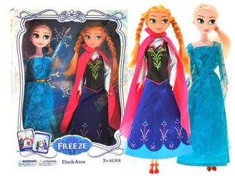 Fairy-tale ICE DOLL SET ELSA AND ANNA ZA0856