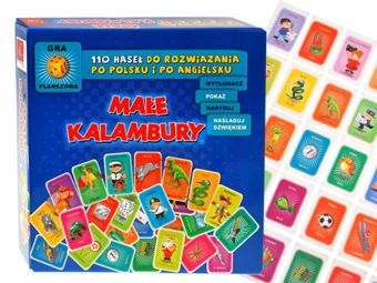 Game Small Puns 110 entries Polish-English. GR0245