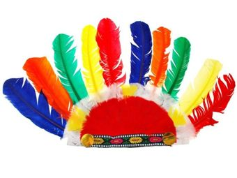 INDIAN plume PEN Wild West ZA1280