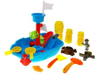The ship sandpit + molds for sand ZA1016