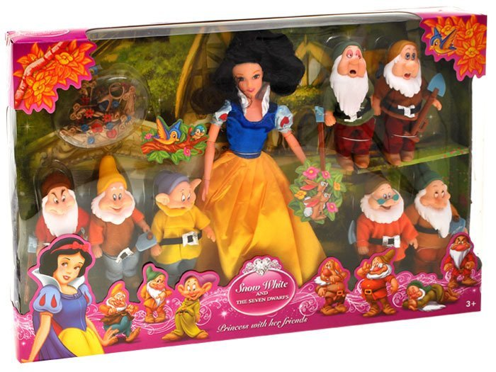 Doll Snow White And The 7 Dwarfs Za1628 Toys Dolls