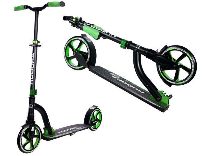 hudora scooter 205 big wheel flex 200 14248 9 sport for children scooters toys for girls. Black Bedroom Furniture Sets. Home Design Ideas