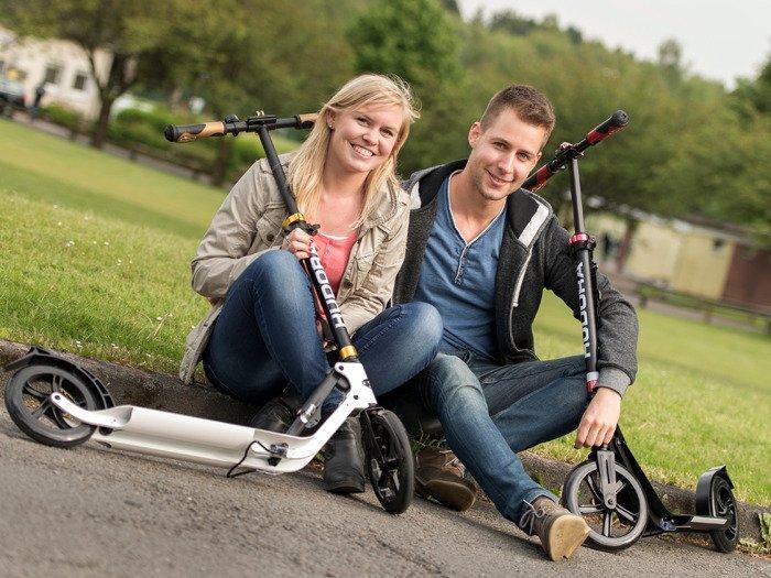 hudora scooter big wheel style near 230 14235 6 sport. Black Bedroom Furniture Sets. Home Design Ideas