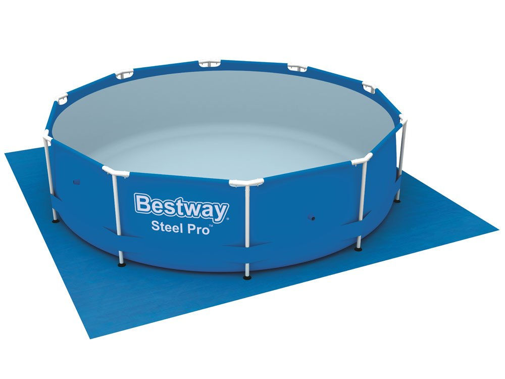 Mat 335x335 bestway pool ba0029 swimming pools pool for Swimming pool accessories