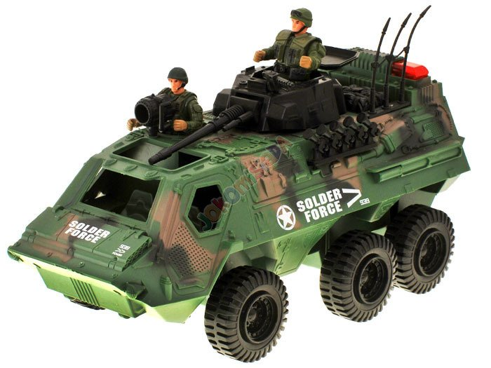 Army Toys For Boys : Military car for special tasks za toys figures