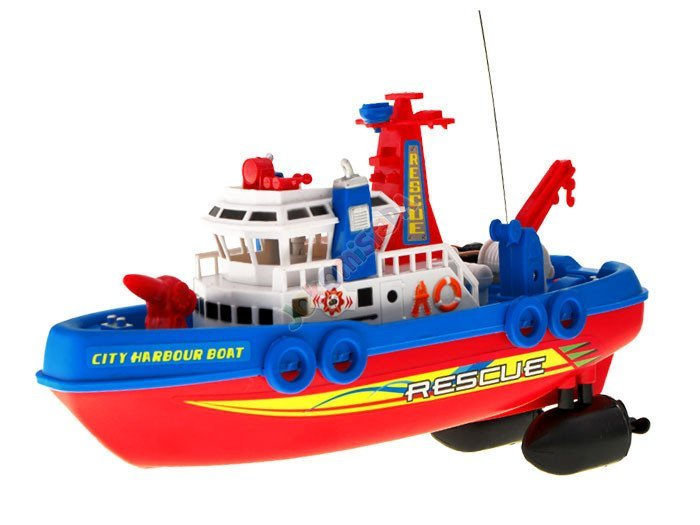 Lillle Boy Toys Boats : The rescue boat remote control rc toys radio