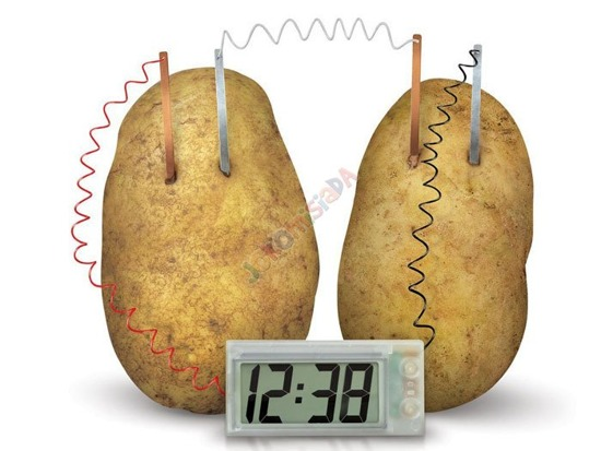 Eco Clock potato experiment do ZA1080