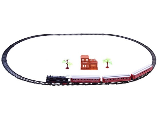 Electric LOCOMOTIVE with Passenger RC0108