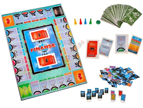 FINANCE form of a board game Monopoly GR0183