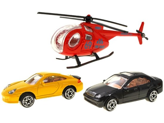 Parking in the case TYRE car helicopter ZA1642