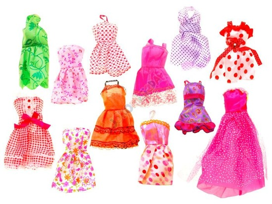 13 creations doll dresses fashion  ZA1771
