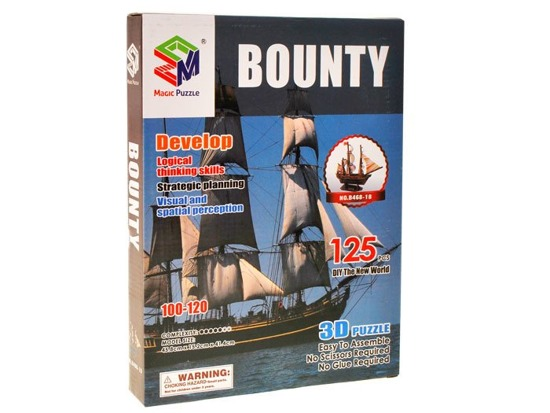 3D Puzzle naval ship Bounty ship FOR 1248