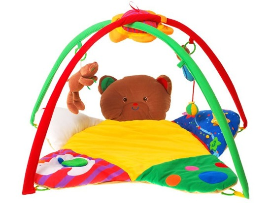 ADORABLE BABY MAT TEDDY BEAR 3in1 ZA0690