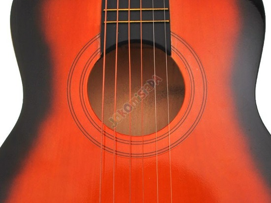 "Acoustic Guitar wooden 30"" 'Rookie Rock IN 0069"