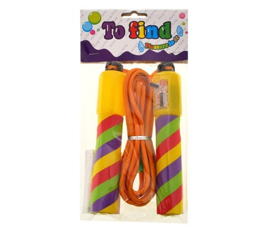 Adjustable Skipping rope with counter 250cm SP0286