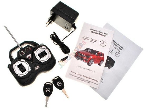 Auto Mercedes ML63 remote control keys 2 engines PA0081