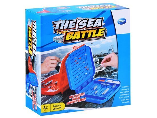 BATTLE SHIPS In the puzzle game sea battle GR0249