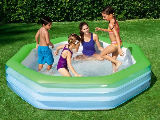 Bestway family pool inflatable 251 x 51 x 51cm 54119