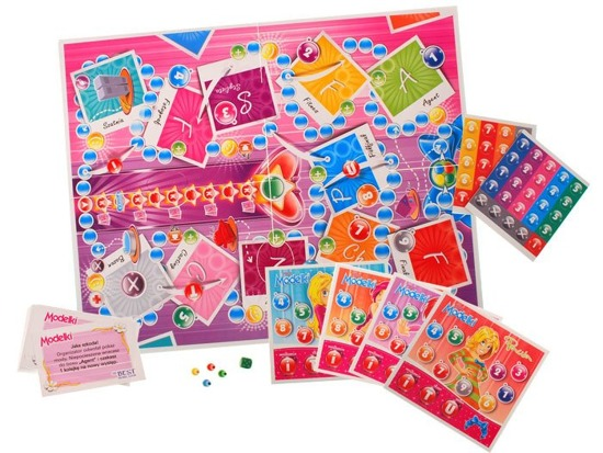 Board game for girls Little Models GR0129