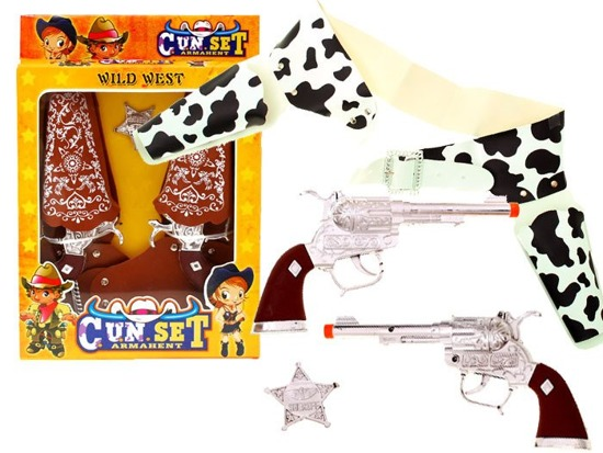 COWBOY SET - Wild West SHERIFF ZA0564