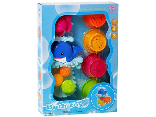 Cheery TOY WHALE BATH ZA0710