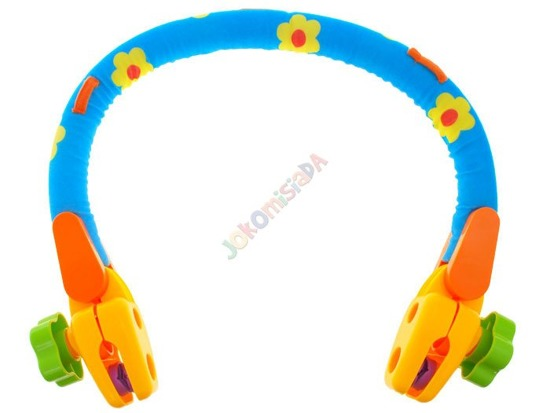 Colored headband for the wheelchair seat for a child ZA1153