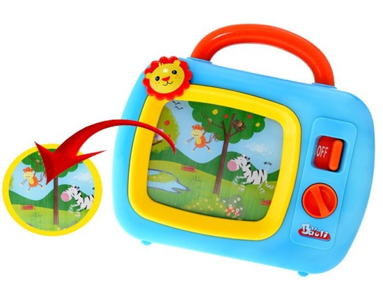 Colorful TV Music Box for baby ZA1462