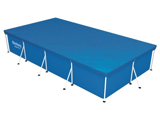 Cover the pool rack rectangular 404 x 214cm Bestway 58107