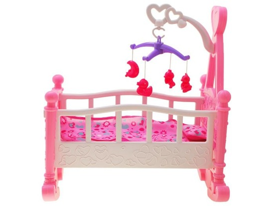 Cradle with carousel Baby Doll ZA1668