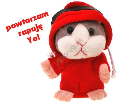 DJ rapping raps Interactive HAMSTER says ZA0882