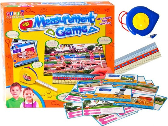 EDUCATIONAL LEARNING GAME OF MEASURE PLAY AND LEARN! GR0091