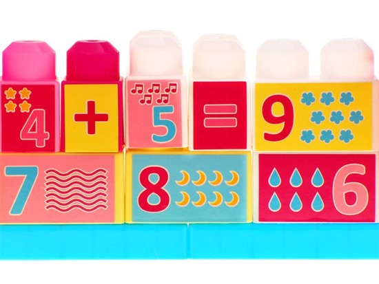 Educational PADS to learn counting 35ele ZA0623