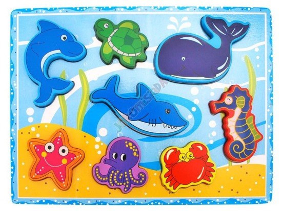 Educational puzzle animals ZA1350