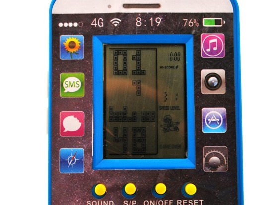 Electronic game TETRIS Pocket version GR0211