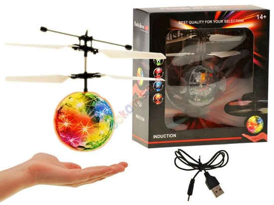 Flying shining disco ball Copter RC030