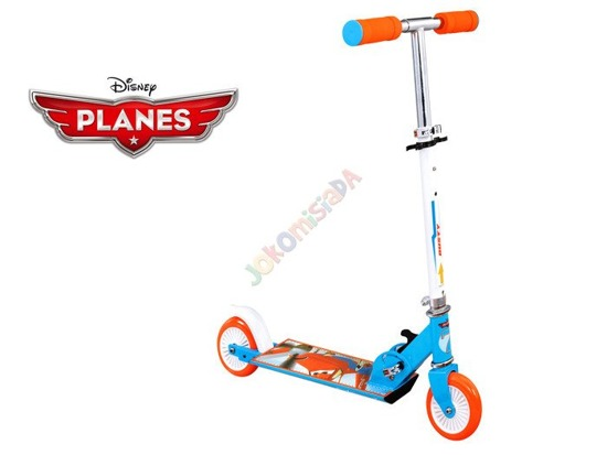 Foldable 2 wheel SCOOTER AIRCRAFT Disney SP0315