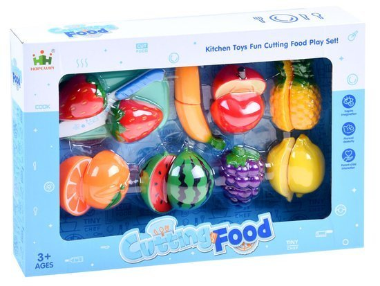 Fruit or vegetable chopping board and knife ZA1725