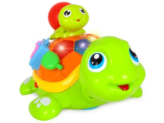 Interactive Tortoise and Turtle crawling ZA1180