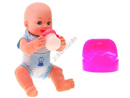 Interactive baby dolls drink pee he says ZA1759