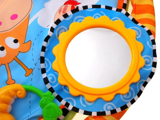 Interactive colored mat for babies ZA1768