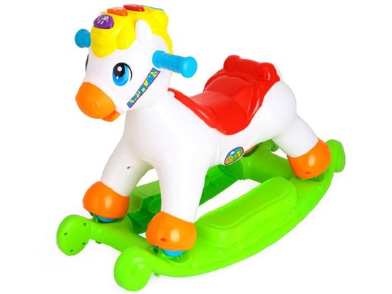 Interactive rocking horse 2in1 ZA1187