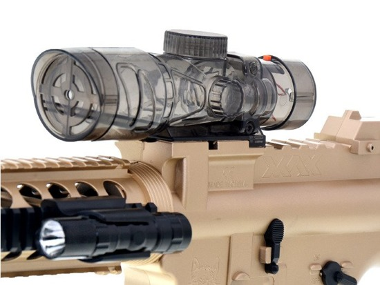 Large sniper rifle on the balls gel ZA1472