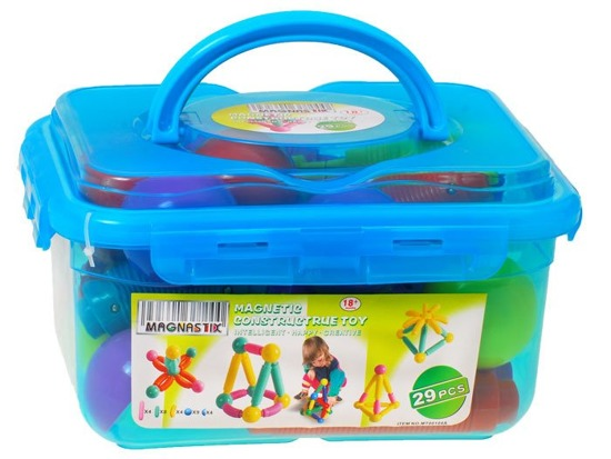 MAGNETIC BLOCKS FOR YOUNG CHILDREN MAGNASTIX 29