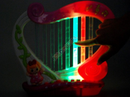 Magical fairy lights HARP game playing IN0043