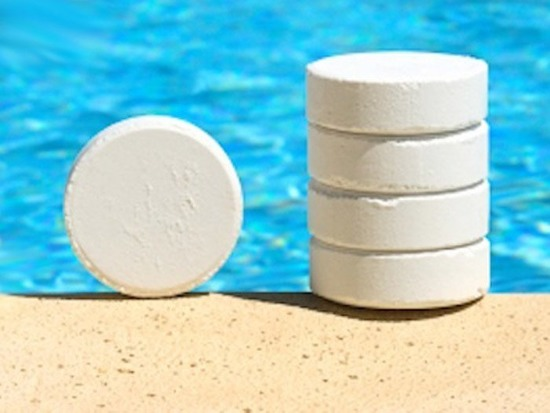 Multifunctional tablets to the pool 5 p BA0055