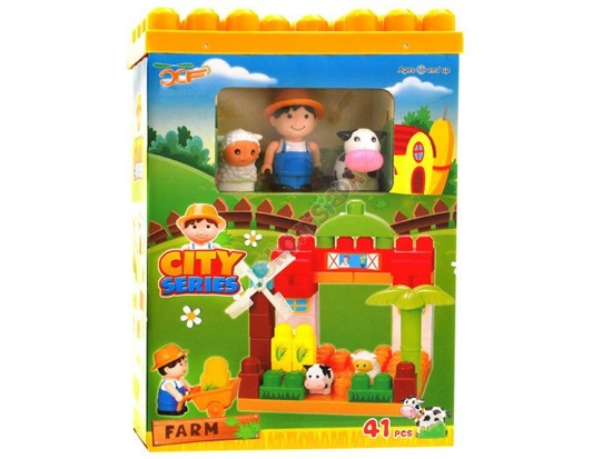 PADS Farmer wheelbarrow creative fun 41ele ZA0620