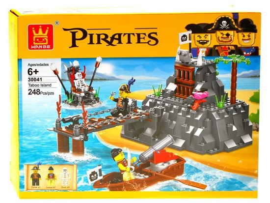 PIRATE ISLAND blocks 248 ele. ZA1739