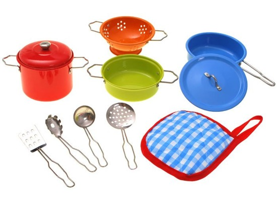 Painted Pots Little cook ware ZA1608