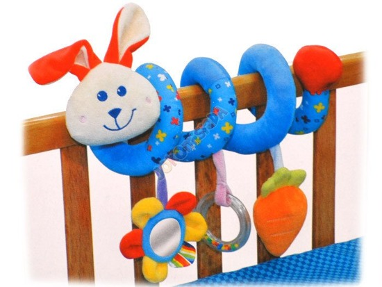 Plush spiral to bed truck ZA0908