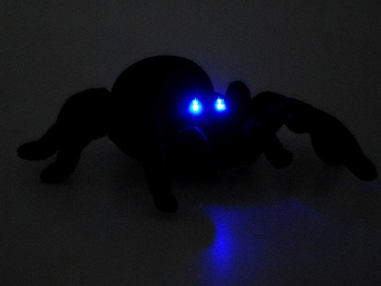 Remote controlled Black Widow SPIDER RC0251